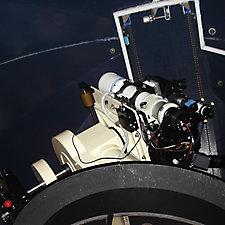 Telescoop montering